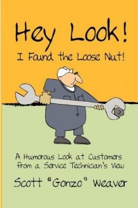 Book- Hey Look! I Found a Loose Nut