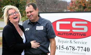 CS Automotive Kim and Rob