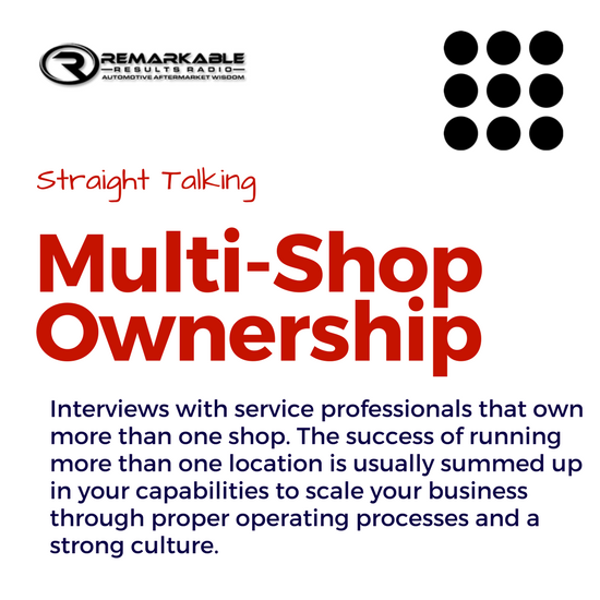 Series - Multi Shop Ownership