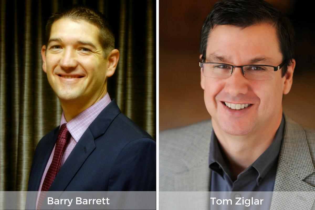 Barry Barrett & Tom Ziglar