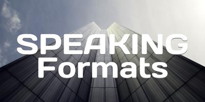 Speaking Formats 2
