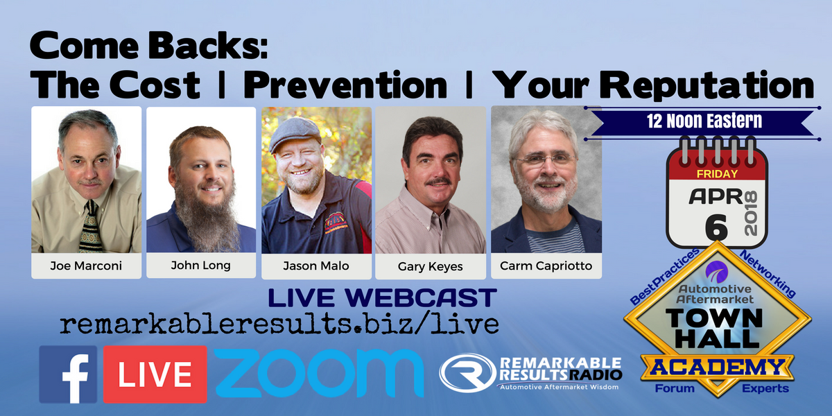 THA 052 Come Backs_ Prevention - The Cost - Your Reputation