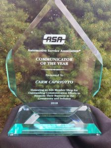 ASA Communicator of the Year 2018