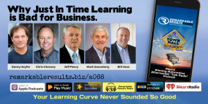 THA 068 Why Just In Time Learning is Bad for Business - SOCIAL