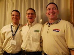 Bryan Kelley, Butch Jobst and Brian Smith at ATE 2017