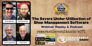 THA 071 Severe Under Utilization of Shop Management Software Social v2