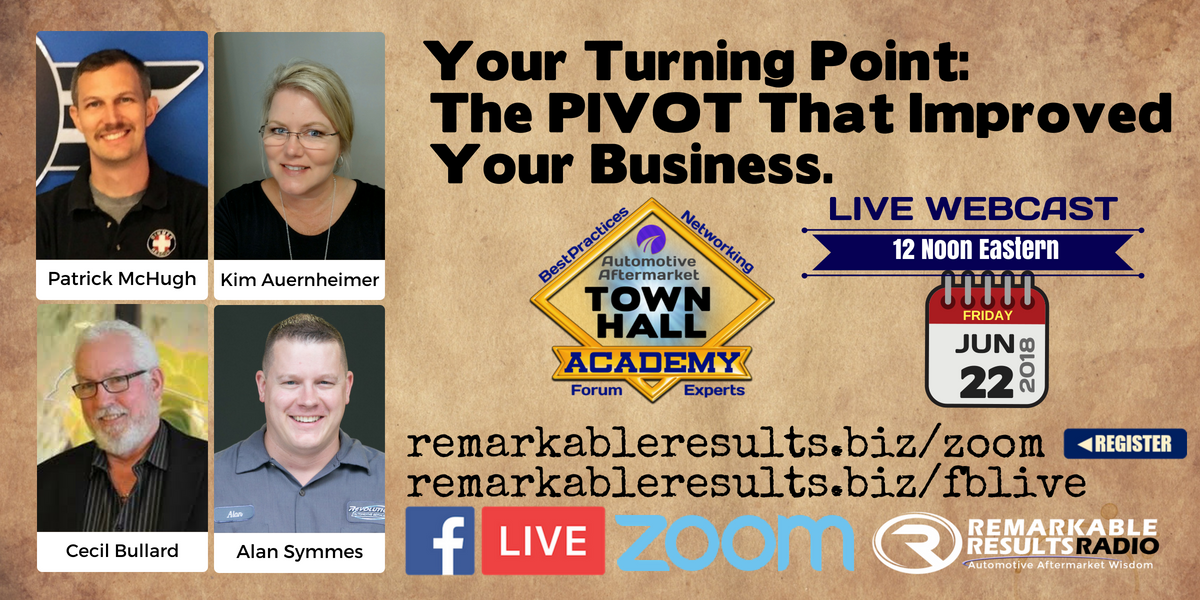 THA 073 Your Turning Point - The Pivot that Improved Your Business