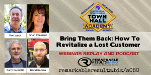 THA 080 - Bring Them Back_ How To Revitalize a Lost Customer REPLAY