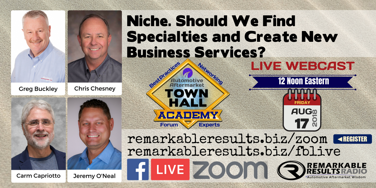 THA 081 - Niche. Should We Find Specialties and Create New Business Services