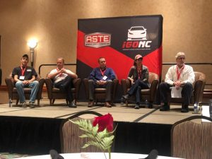 ASTE Panel Discussion 2018. Photo Courtesy of Brenda White