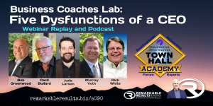 THA 090 Business Coaches Lab_ Five Dysfunctions of a CEO POST v2