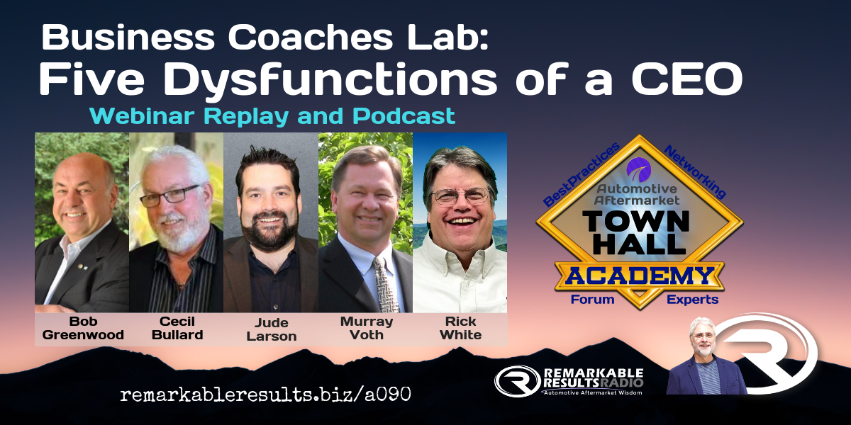 Tha 090 Business Coaches Lab Five Dysfunctions Of A Ceo