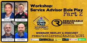 THA 091 Workshop_ Service Advisor Role Play Part 2 v3 Graphic