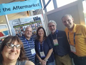 Amy Mattinat, Bill Hill, Leigh Anne Best, Carm, Bill Nalu - AAPEX '18