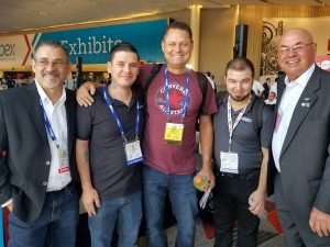 AAPEX 2018 Frank, Brin, Jeremy, Tanner and Bob