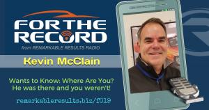 FTR 019 Kevin McClain