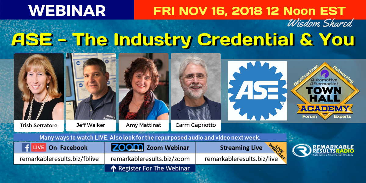 THA 094 ASE -The Industry Credential and You