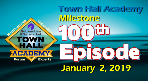 Town Hall Academy Epiosde 100 Milestone