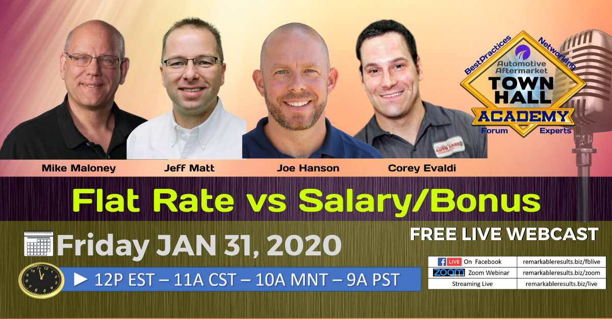 THA 157 Flat Rate vs Salary