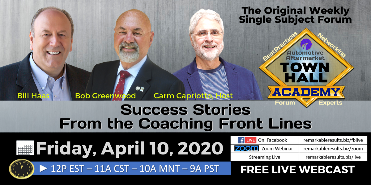 THA 167 Stories from the Coaching Front Lines