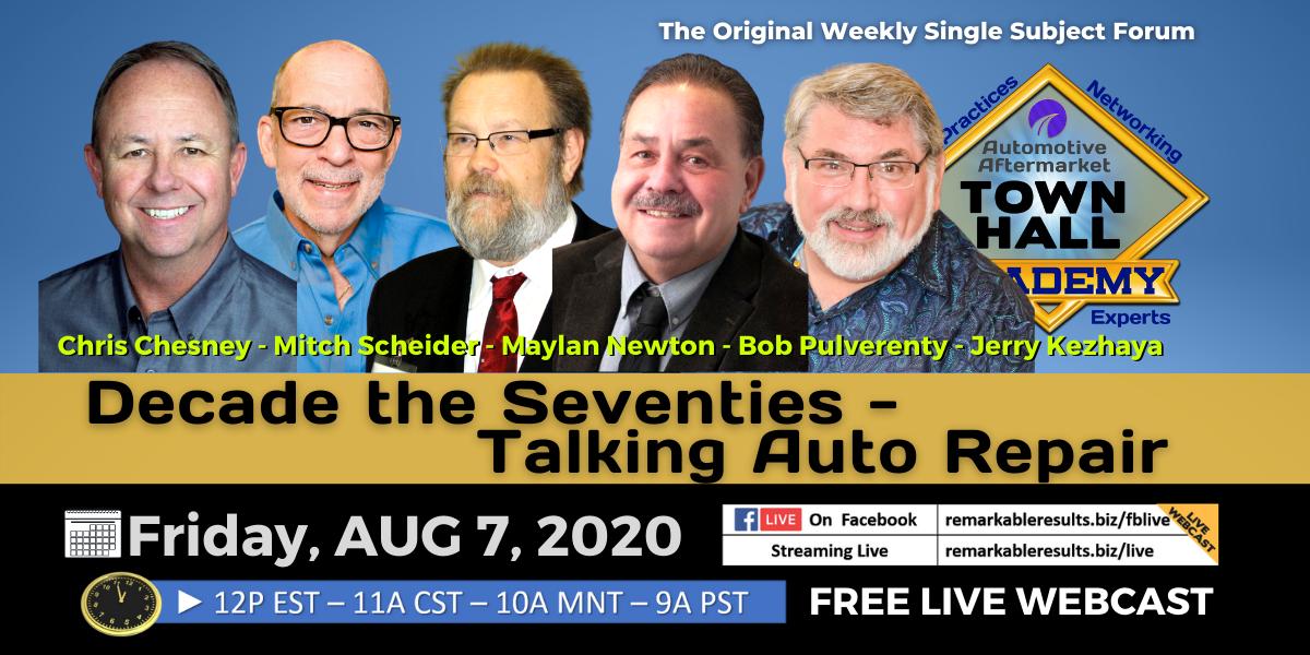 THA 184 Decade the Seventies - Talking Auto Repair