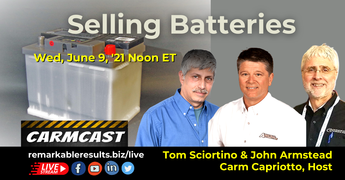 CarmCast 092 Selling Batteries
