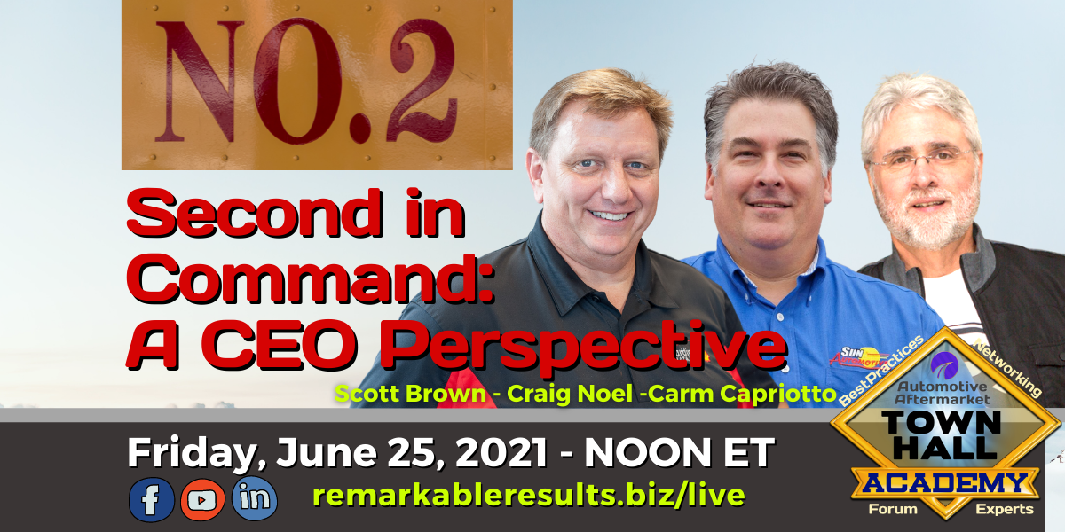 THA 230 Second in Command - A CEO Perspective