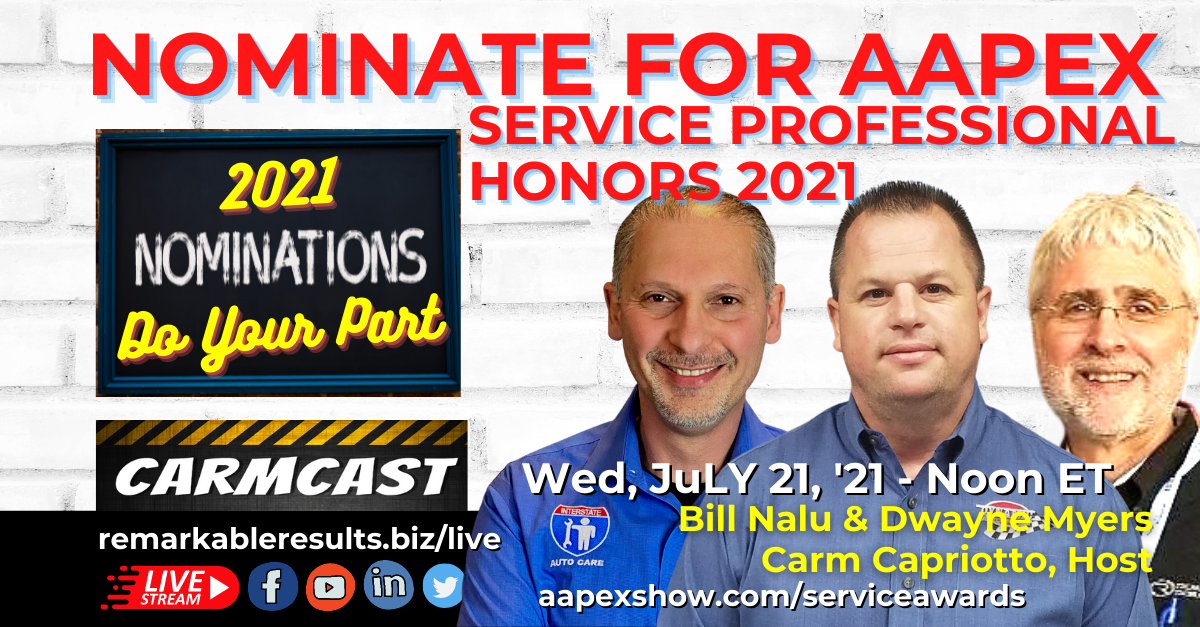 CarmCast 094 AAPEX Service Awards