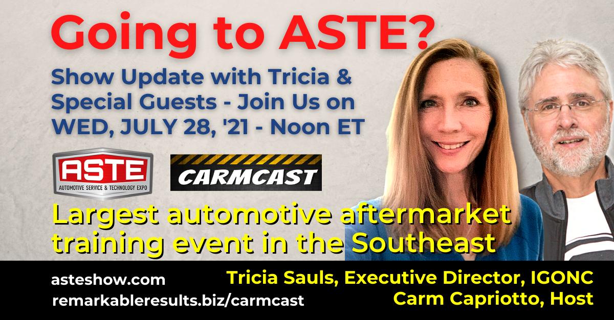CarmCast 095 ASTE