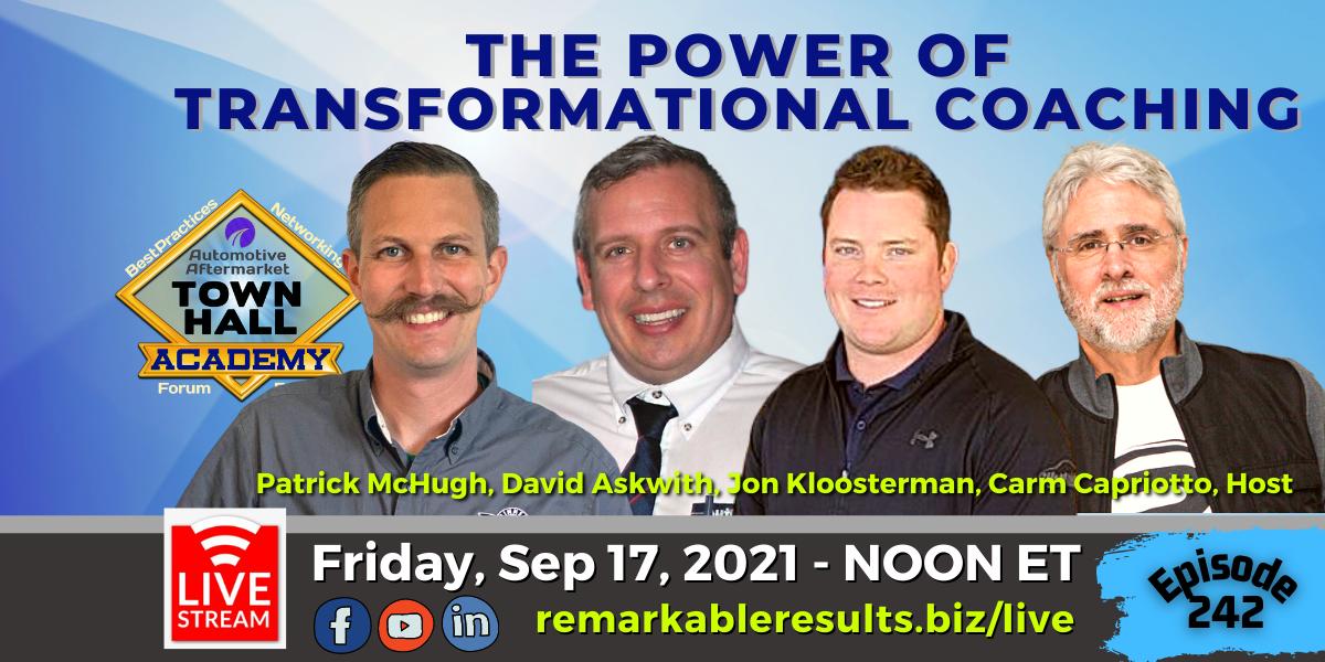 THA 242 Transformational Coaching