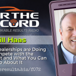 FTR 072 Bill Haas Dealerships