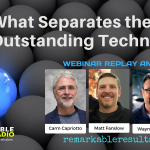 THA 083_ What Separates The Outstanding Technicians Graphic