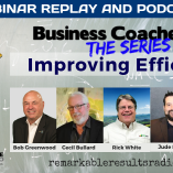 THA 116 Business Coaches LAB on Improving Efficiency SOCIAL