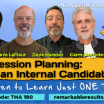 THA 190 Succession Planning with an Internal Canidate POST v2