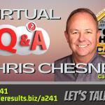 THA 241 Virtual Q & A w-Chris Chesney post
